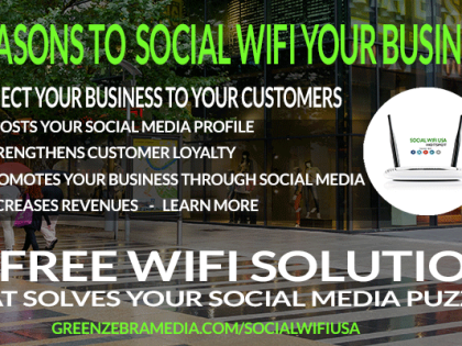 7 Big Reason You Need Social WiFi For your Business