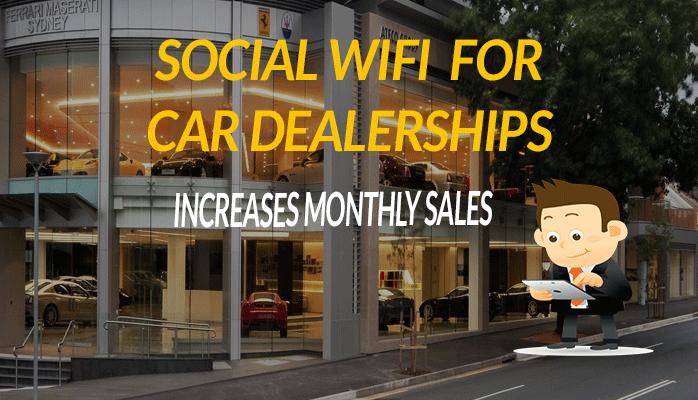 Auto Car Dealership social-internet Wifi