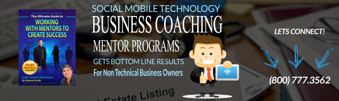 Business Coach for Social Mobile technology