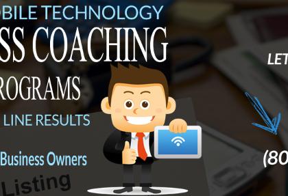Business Coach Mentor Program Irvine CA